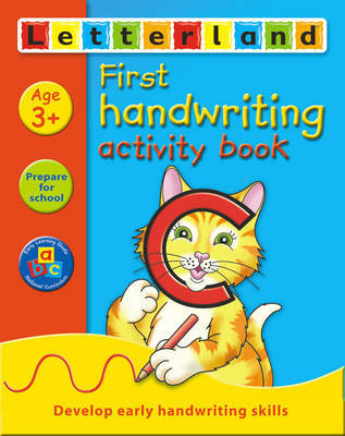 First Handwriting Activity Book by Gudrun Freese image