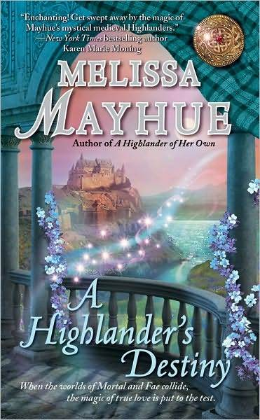 A Highlander's Destiny by Melissa Mayhue image