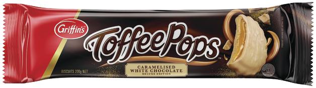 ToffeePops - Caramelised White Chocolate (200g)