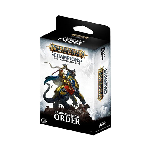 Warhammer TCG Age of Sigmar Champions: Campaign Deck Order
