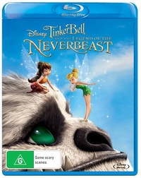 Tinker Bell and The Legend of The Never Beast on Blu-ray