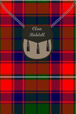 Clan Riddell Tartan Journal/Notebook by Clan Riddell