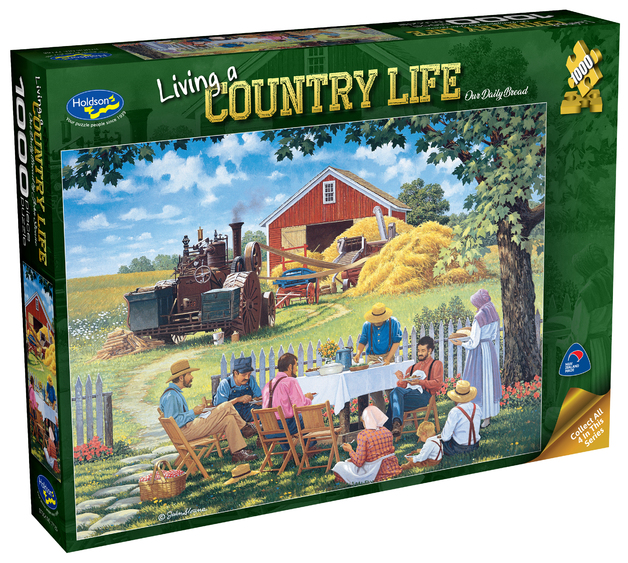 Holdson: 1000 Piece Puzzle - Living a Country Life (Our Daily Bread)