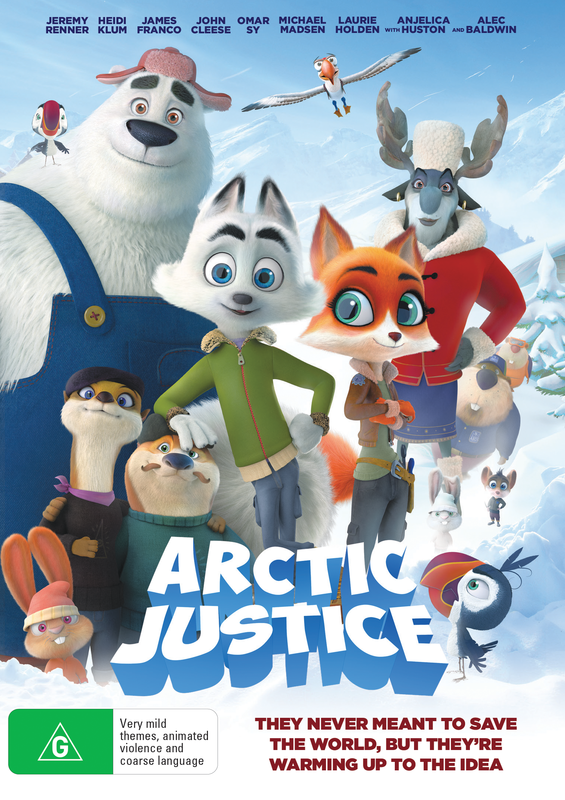 Arctic Justice on DVD