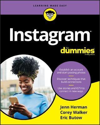 Instagram For Dummies by Corey Walker