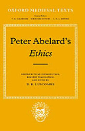 Ethics by Peter Abelard