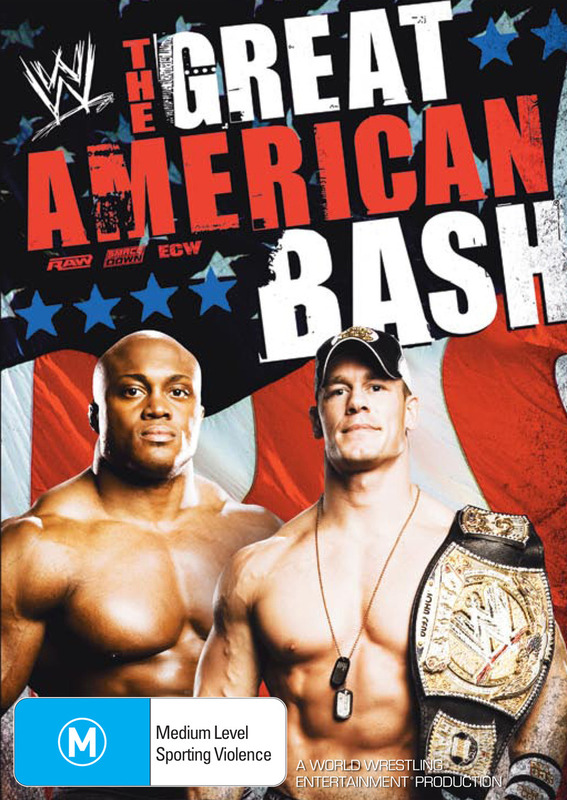WWE - The Great American Bash 2007 on DVD