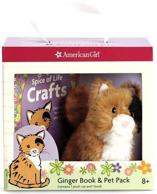 Ginger Book & Pet Package