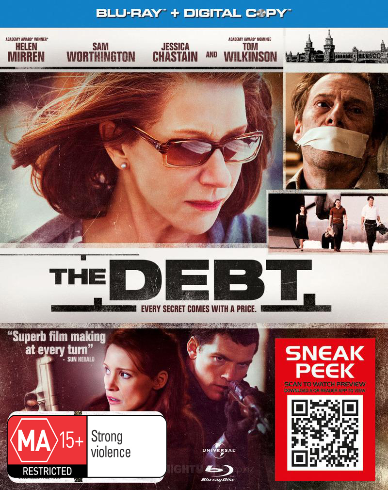 The Debt on Blu-ray image