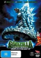 Godzilla - Final Wars on DVD