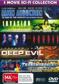 5 Movie - Sci Fi Collection on DVD