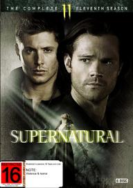 Supernatural - The Complete Eleventh Season DVD