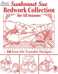 Sunbonnet Sue Redwork Collection by Loyce Saxton