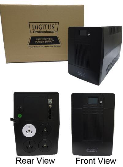 Digitus Line Interactive 1000VA UPS (1000VA/600W) image