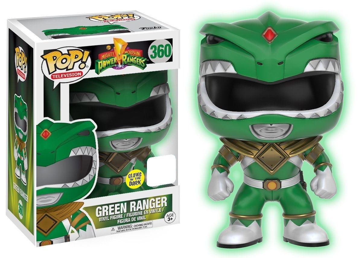 Power Rangers - Green Ranger (Glow) Pop! Vinyl Figure (LIMIT - ONE PER CUSTOMER) image