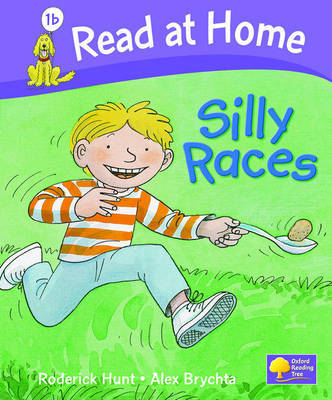 Read at Home: Level 1b: Silly Races by Roderick Hunt image