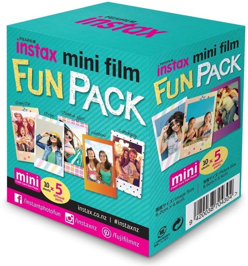 Fujifilm Instax Mini Film - 50 Pack (Fun Pack) image