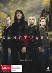 Sanctuary - Season 1 (4 Disc Set) on DVD