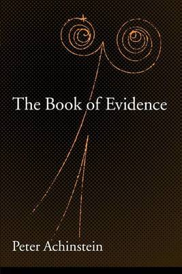 The Book of Evidence by Peter Achinstein image