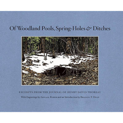 Of Woodland Pools, Spring-Holes and Ditches by Henry David Thoreau