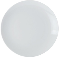 Casa Domani Casual White Coupe Side Plate 18.5cm