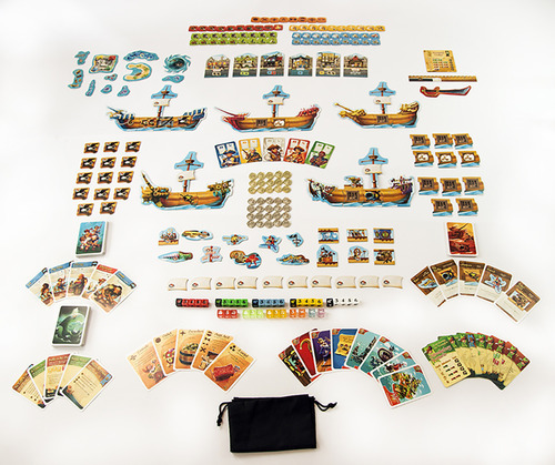Rattle Battle: Grab the Loot - Board Game image