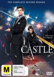Castle - The Complete 2nd Season (6 Disc Set) on DVD image