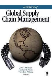 Handbook of Global Supply Chain Management by John T. Mentzer