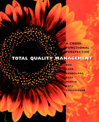 Total Quality Management by Ashok Rao image