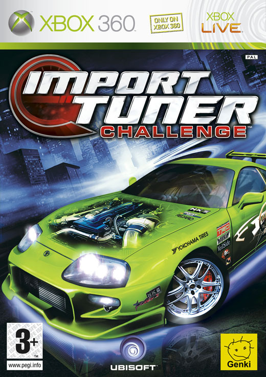 Import Tuner Challenge for Xbox 360