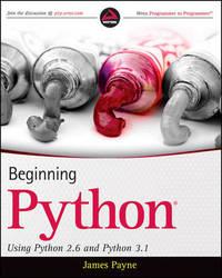 Beginning Python by James Payne image