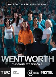 Wentworth - Season 3 on DVD