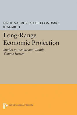 Long-Range Economic Projection, Volume 16 by National Bureau of Economic Research image