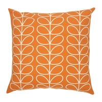 Orla Kiely Linear Stem Cushion Cover - Orange