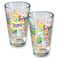 Nickelodeon: Rugrats Pastel Block Pattern - Pint Glass