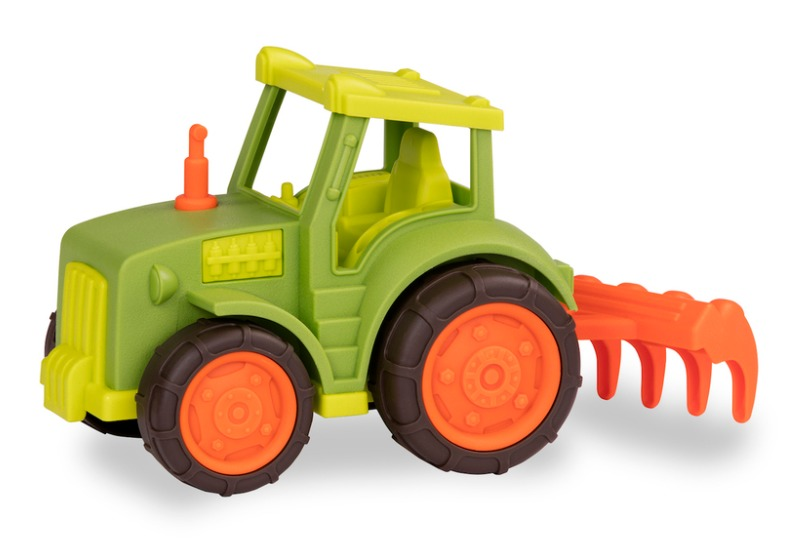 Battat: Wonder Wheels - Tractor with Rake image
