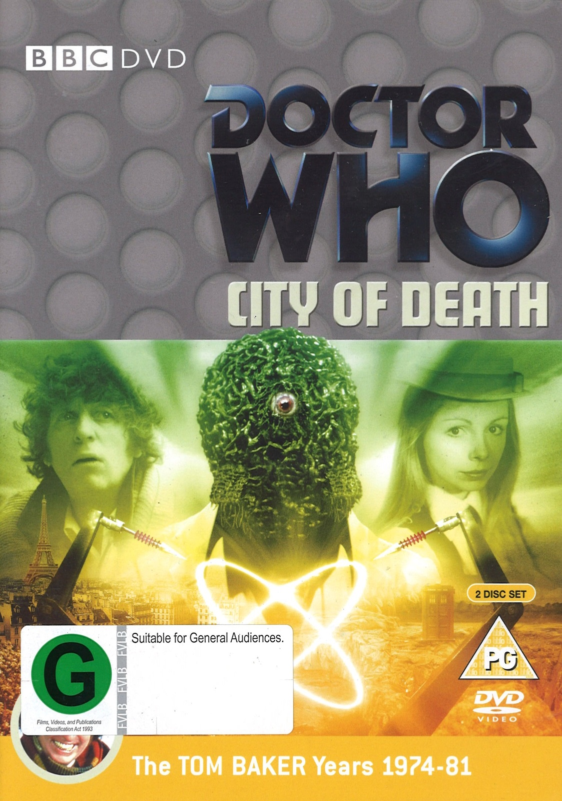 Doctor Who: City of Death on DVD image