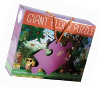 Floss & Rock: 54-Piece Floor Puzzle - Go Wild