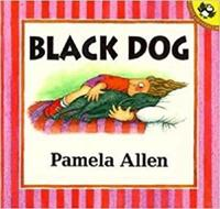 Black Dog (English/Arabic) by Pamela Allen