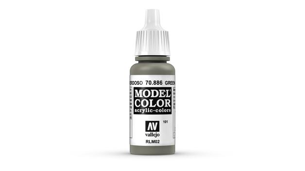 Vallejo Model Colour Green Grey (101) 17ml