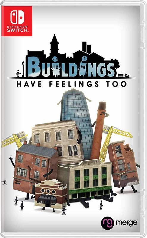Buildings Have Feelings Too! for Switch