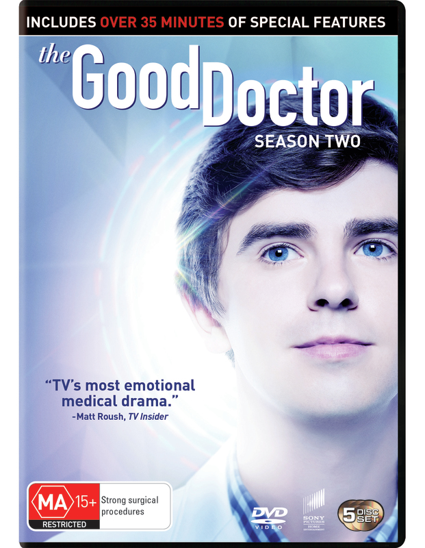 The Good Doctor - The Complete Second Season on DVD
