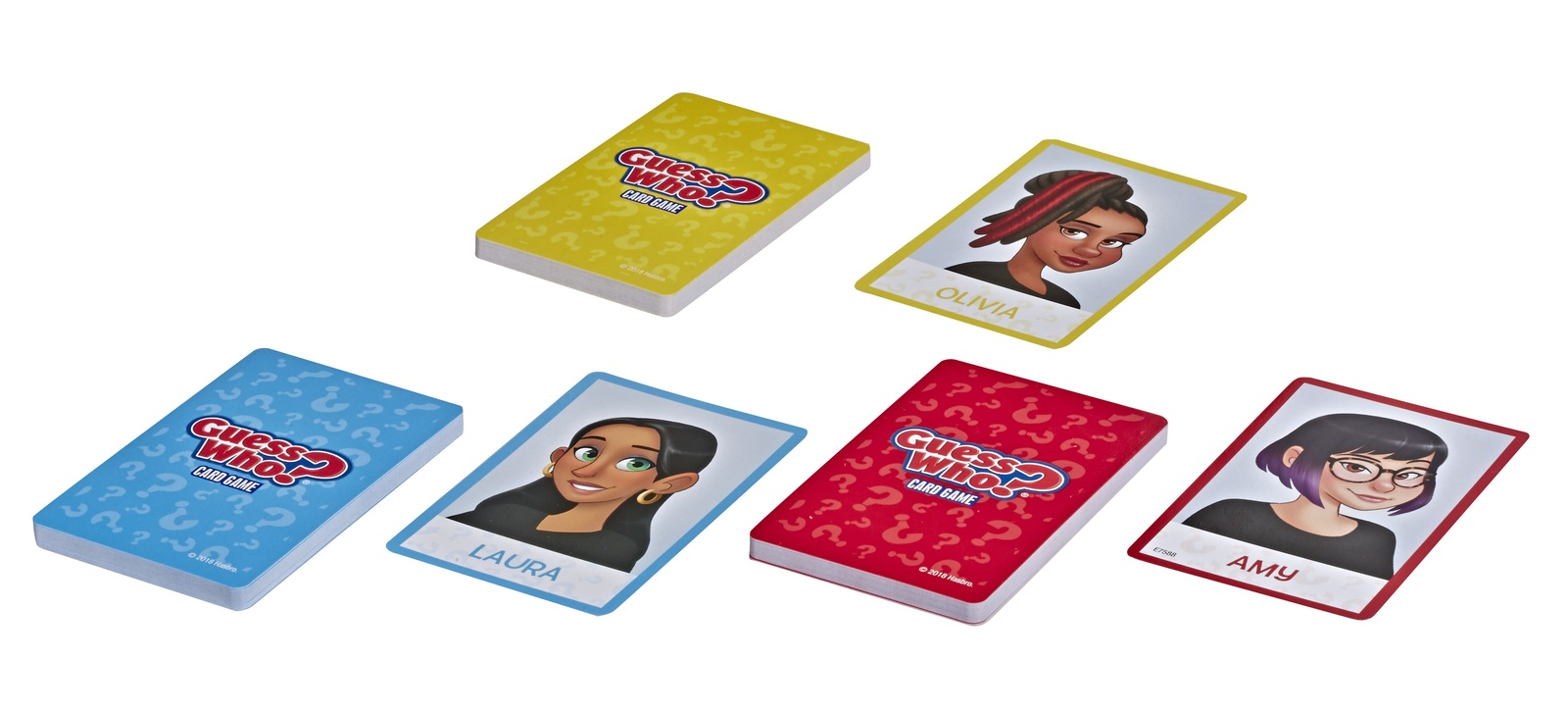Guess Who - The Card Game image
