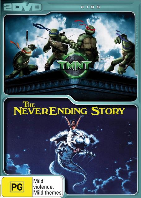 TMNT / The NeverEnding Story (2 Disc Set) on DVD image