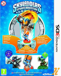Skylanders Spyro's Adventure Starter Pack (contains Stealth Elf, Dark Spyro, Ignitor) for Nintendo 3DS