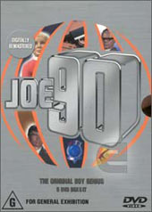 Joe 90 Volumes 1-5 Box Set on DVD