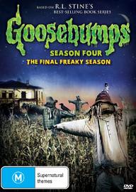 Goosebumps - Season Four on DVD