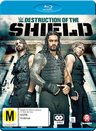 WWE: The Destruction Of The Shield on Blu-ray