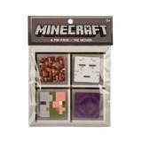 Minecraft Nether 4 Button Pack