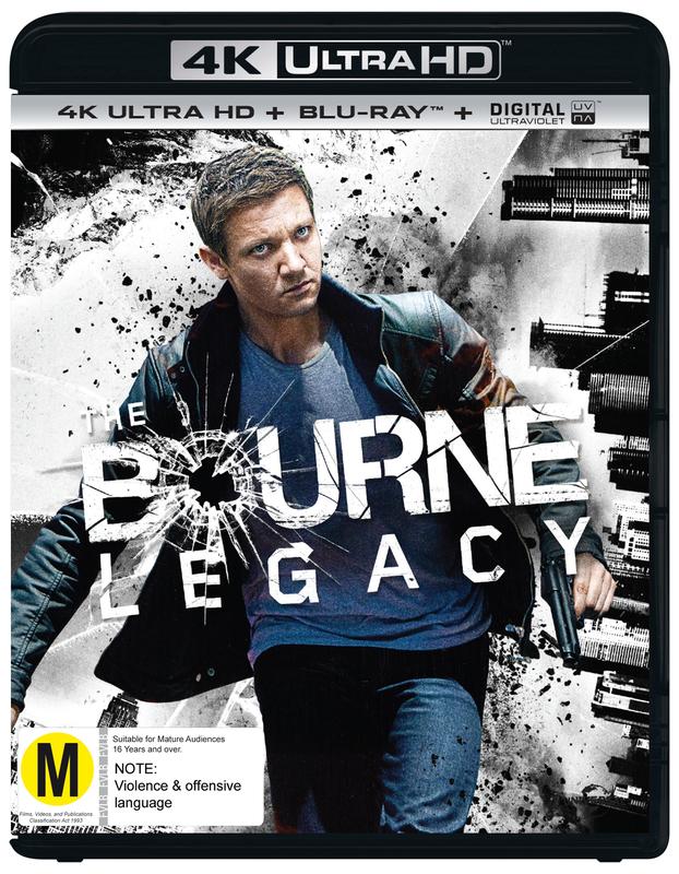 The Bourne Legacy on Blu-ray, UHD Blu-ray